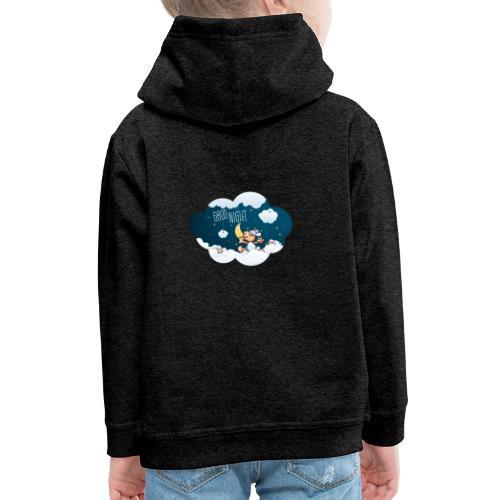 Gute Nacht Schafe zählen - Kinder Premium Hoodie