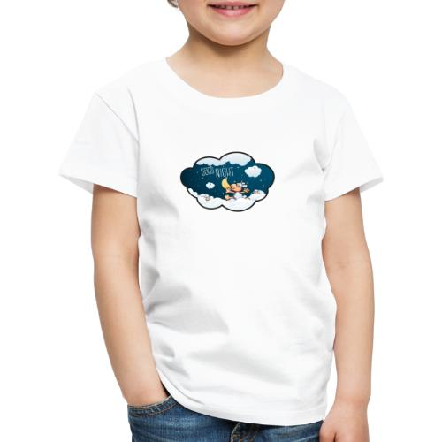 Gute Nacht Schafe zählen - Kinder Premium T-Shirt