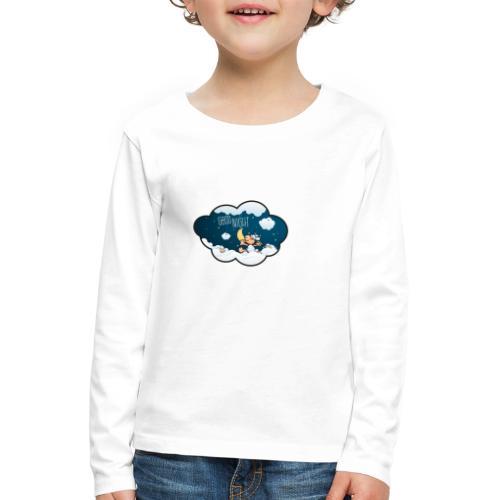 Gute Nacht Schafe zählen - Kinder Premium Langarmshirt