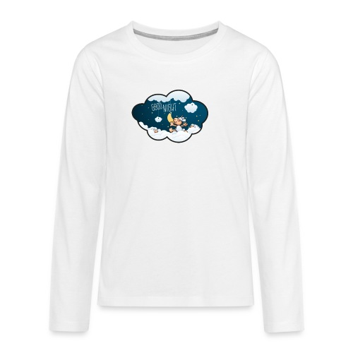Gute Nacht Schafe zählen - Teenager Premium Langarmshirt