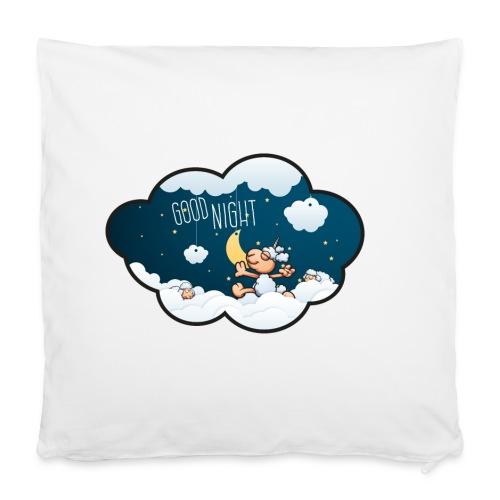 Gute Nacht Schafe zählen - Kissenbezug 40 x 40 cm