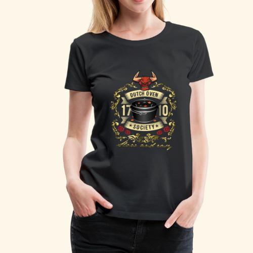 Grill-T-Shirt Dutch Oven Society - Geschenkidee!