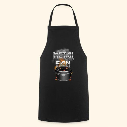 Grill-T-Shirt Dutch Oven Metal Fan - Kochschürze