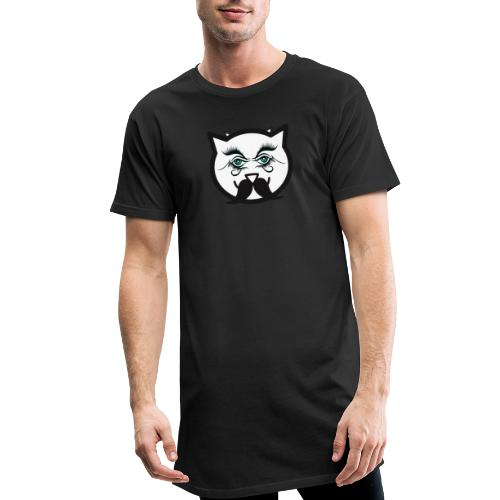 Hipster Cat Boy by T-shirt chic et choc - T-shirt long Homme
