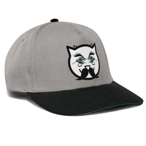 Hipster Cat Boy by T-shirt chic et choc - Casquette snapback
