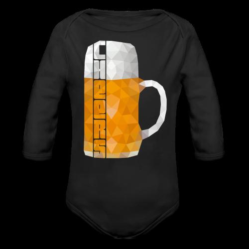 Low Polygon Bier Maß Krug Cheers