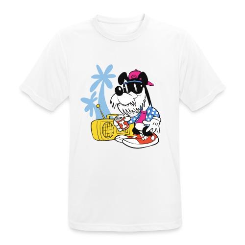 A Dude's Best Bro! - miesten tekninen t-paita