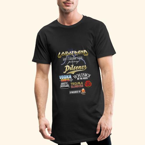 Goldstrand T-Shirt Sauftour - Männer Urban Longshirt