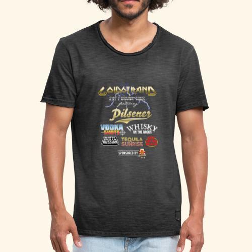 Goldstrand T-Shirt Sauftour - Männer Vintage T-Shirt
