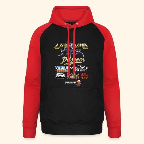 Goldstrand T-Shirt Sauftour - Unisex Baseball Hoodie