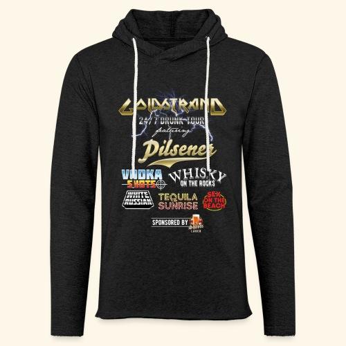Goldstrand T-Shirt Sauftour - Leichtes Kapuzensweatshirt Unisex
