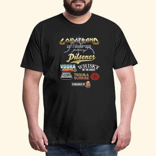 Goldstrand T-Shirt Sauftour - Männer Premium T-Shirt
