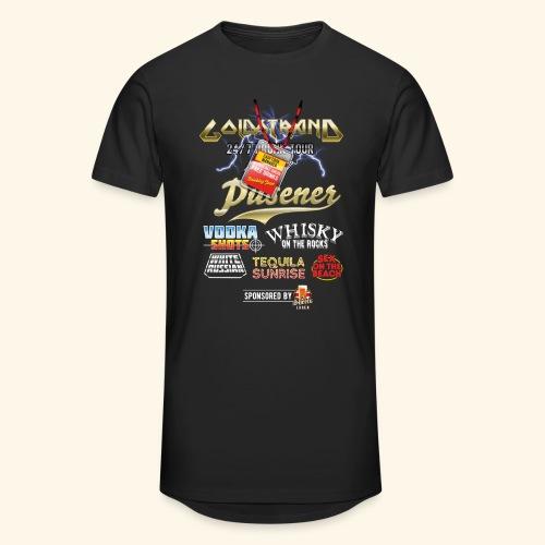 Goldstrand T-Shirt Sauftour Manager - Männer Urban Longshirt