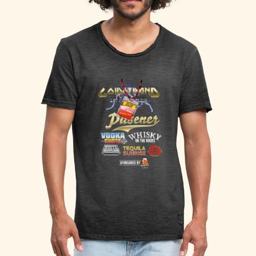 Goldstrand T-Shirt Sauftour Manager - Männer Vintage T-Shirt