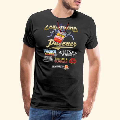 Goldstrand T-Shirt Sauftour Manager - Männer Premium T-Shirt