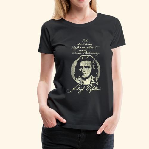 Schiller Zitat T-Shirt Design