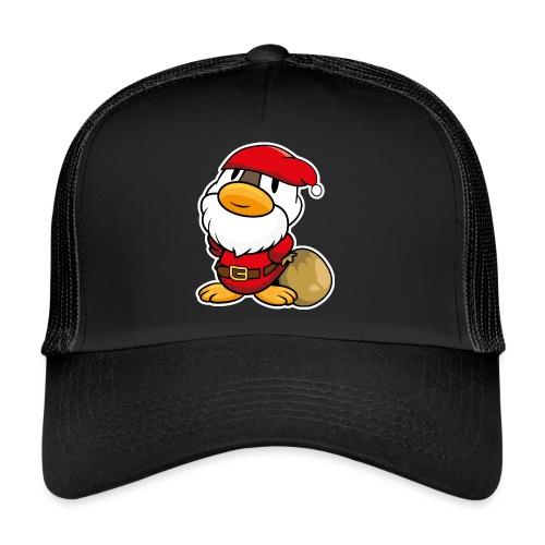 Lustige kleine Ente als Weihnachtsmann Tassen & Zubehör - Trucker Cap