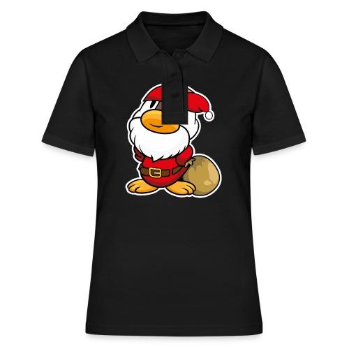 Lustige kleine Ente als Weihnachtsmann Tassen & Zubehör - Frauen Polo Shirt