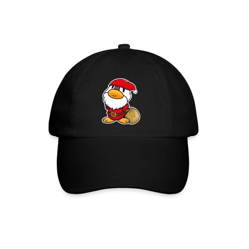 Lustige kleine Ente als Weihnachtsmann Tassen & Zubehör - Baseballkappe