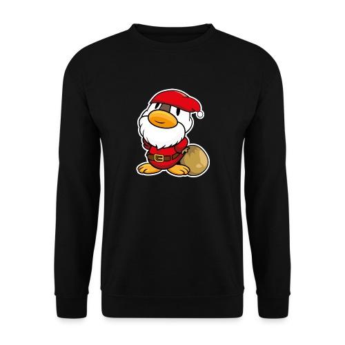 Lustige kleine Ente als Weihnachtsmann Tassen & Zubehör - Männer Pullover