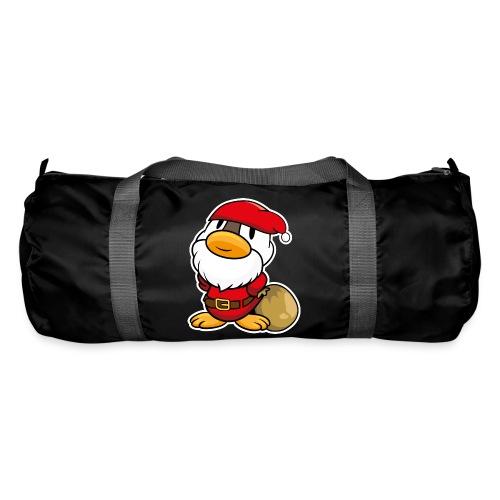 Lustige kleine Ente als Weihnachtsmann Tassen & Zubehör - Sporttasche