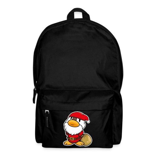 Lustige kleine Ente als Weihnachtsmann Tassen & Zubehör - Rucksack