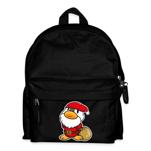 Lustige kleine Ente als Weihnachtsmann Tassen & Zubehör - Kinder Rucksack