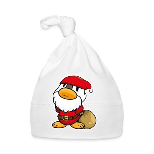 Lustige kleine Ente als Weihnachtsmann Tassen & Zubehör - Baby Mütze