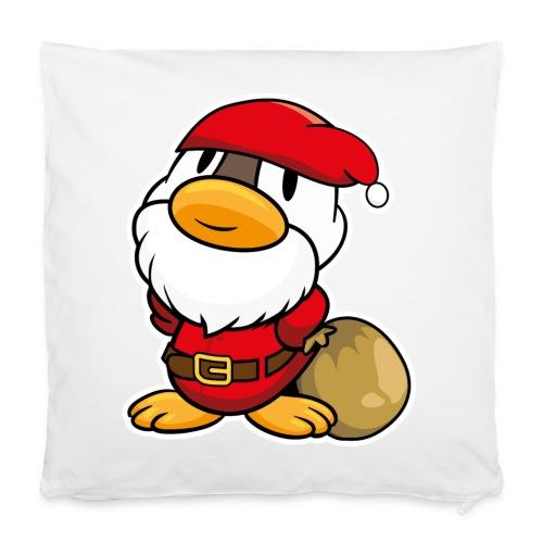 Lustige kleine Ente als Weihnachtsmann Tassen & Zubehör - Kissenbezug 40 x 40 cm