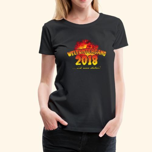 Weltuntergang 2018 T-Shirt