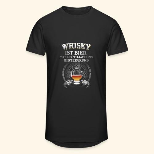 Whisky ist Bier T-Shirt Design - Männer Urban Longshirt