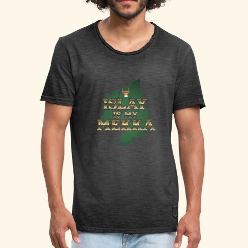 Islay Whisky T-Shirt - Männer Vintage T-Shirt