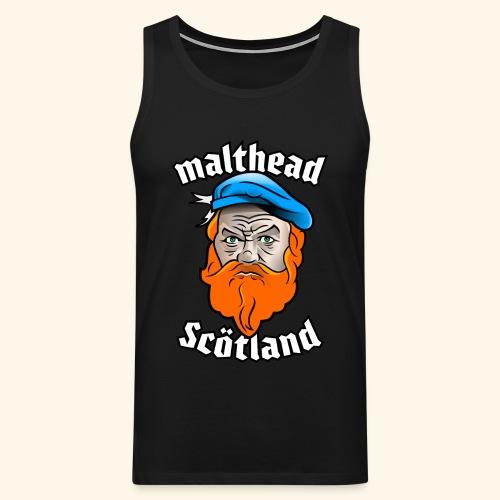 Whisky T-Shirt Malthead für Whisky-Fans - Männer Premium Tank Top