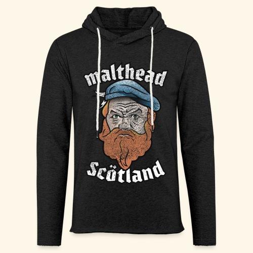 Whisky T-Shirt Malthead für Whisky-Fans - Leichtes Kapuzensweatshirt Unisex