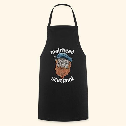 Whisky T-Shirt Malthead für Whisky-Fans - Kochschürze