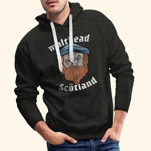Whisky T-Shirt Malthead für Whisky-Fans - Männer Premium Hoodie