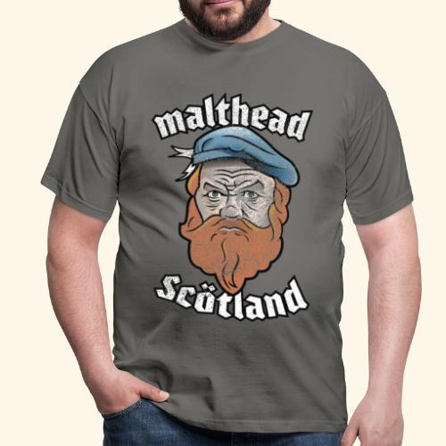 Whisky T-Shirt Malthead für Whisky-Fans - Männer T-Shirt