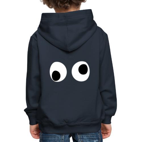 Wiebel oogjes - Kinderen trui Premium met capuchon