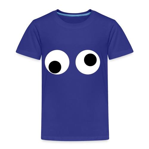 Wiebel oogjes - Kinderen Premium T-shirt