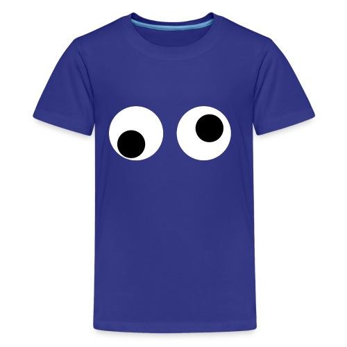 Wiebel oogjes - Teenager Premium T-shirt