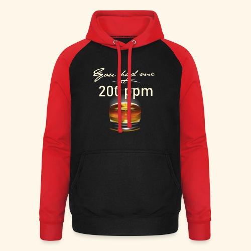 Whisky T-Shirt for Single Malt Fans - 200 ppm - Unisex Baseball Hoodie