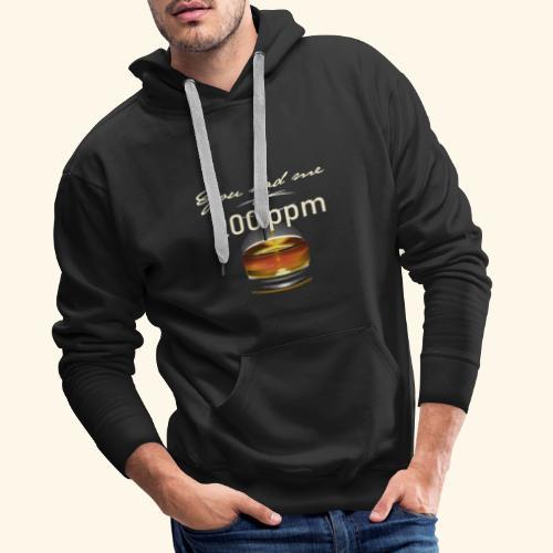 Whisky T-Shirt for Single Malt Fans - 200 ppm - Männer Premium Hoodie