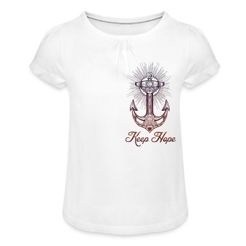 Girl's T-Shirt with Ruffles