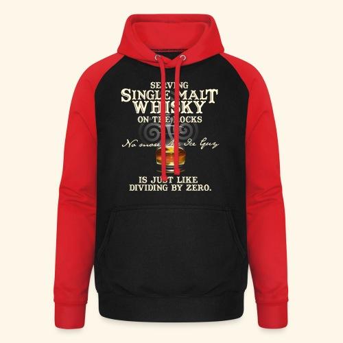 Whisky-T-Shirt Single Malt Whisky - Unisex Baseball Hoodie