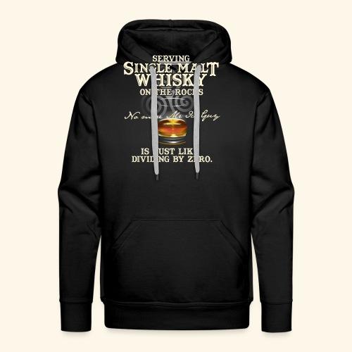 Whisky-T-Shirt Single Malt Whisky - Männer Premium Hoodie