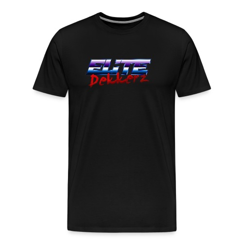Elite Dekkerz logo - Men's Premium T-Shirt