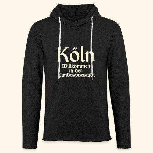 Köln T-Shirt für Düsseldorfer - Leichtes Kapuzensweatshirt Unisex