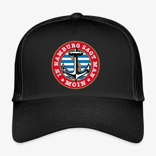 In Hamburg sagt man Moin Anker Seil Shirt 77 - Trucker Cap