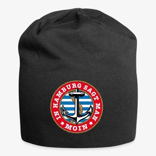 In Hamburg sagt man Moin Anker Seil Shirt 77 - Jersey-Beanie