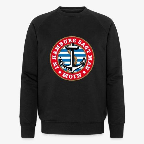 In Hamburg sagt man Moin Anker Seil Shirt 77 - Männer Bio-Sweatshirt von Stanley & Stella